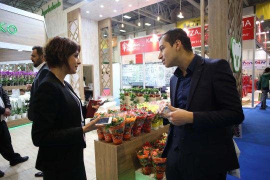 The Eurasia Plant Fair / Flower Show İstanbul showcases the most innovative landscaping solutions for green buildings!