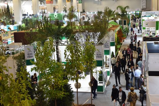THE FLOWER AND PLANT SHOW'A 14.330 ZİYARETÇİ GELDİ